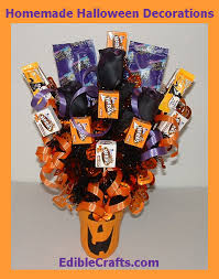 homemade halloween candy ideas. Interesting Ideas Homemade Halloween Decorations  Candy Centerpiece On Candy Ideas A