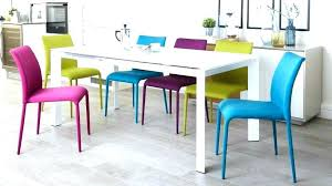 bright colored dining chair colorful room chairs inside plan 19 pertaining to plans 8