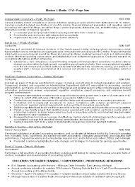 how to write an accounting resume resume for cpa rome fontanacountryinn com