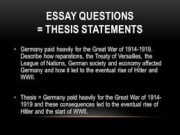 ww chapter test essay ppt video online  9 essay questions