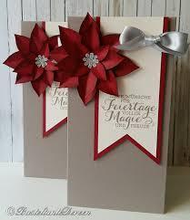 Große Verpackung Mit Weihnachtsstern Weihnachten