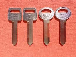 Details About 4 Ford Ltd Fairmont Falcon Oem Key Blanks 67 92
