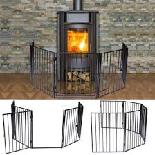 fireplace fence wide barrier gate hearth pet fire protect fireguard baby safety