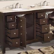 image of 72 double sink bathroom vanity