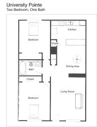 2 bedroom house floor plans tiny bungalow