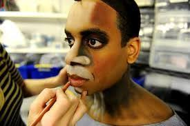 image result for shrek makeup prosthetics