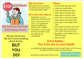 junior council road safety charter