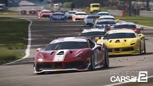 Project Cars 2 Steam Charts Ferrari 488 Challenge Heads List Project Cars 2 Update Notes
