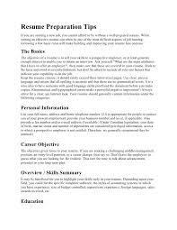 Resume Preparation Tips If you are seeking a new job, you cannot afford to  be ...