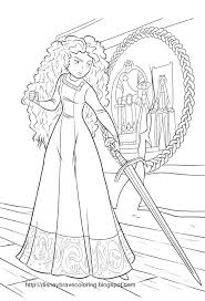 Choose your favorite coloring page and color it in bright colors. Brave Merida Coloring Pages Disney Princess Coloring Pages Princess Coloring Pages Family Coloring Pages