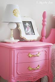 pink and white furniture. a cute girlu0027s room with pink furniture and gold accents white e