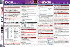 Spark Charts Excel Microsoft Excel 2003 For Advanced Users Sparkcharts Paperback