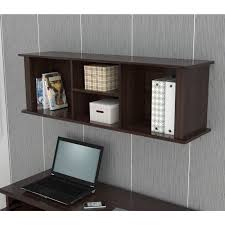 Inval Espresso Wall Mounted Hutch - Free Shipping Today - Overstock.com -  14029002