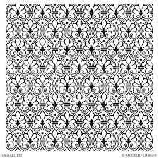 classic wall stencils for painting custom style home decor victorian stencil patterns wall stencils