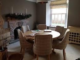 neptune henley oak round dining table 150cm