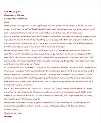 Work Experience Cover Letter 13 Accounting Cover Letter Word Pdf Free Premium Templates