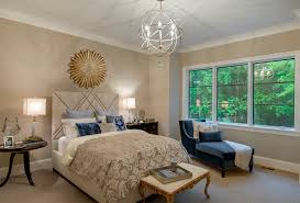 Taupe Bedroom Gold Sunburst Wall Decor Ideas Home Staging
