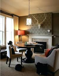 accent walls emphasize a focal point red brick fireplace wall color all in the detail create