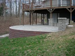 backyard raised patio ideas. Raised Patio Ideas Elegant Paver Retaining Wall Columns Stone Sitting Of Backyard K