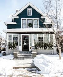 Minneapolis Home Decorated for Winter | Deuce Cities Henhouse ...