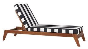 black and white striped furniture. filaki lounger with black and white stripe cushion striped furniture