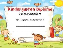 Preschool Graduation Certificate Editable Kinder Graduation Certificates Tirevi Fontanacountryinn Com