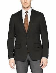 Haggar Mens J M Premium Check Slim Fit Suit Separate Coat
