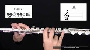 How To Play The Note E On Flute Learn Flute Online