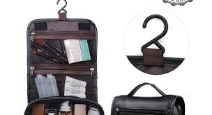 pu leather travel toiletry bags mens las supply toiletry bag