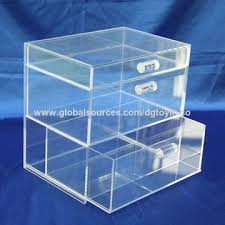 Acrylic Product Display Stands Awesome Small Acrylic Display Stand With Drawers Drawers Take Out Easily