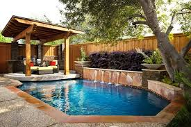 Pools For Small Spaces Stagger Space Renovation Traditional Pool Dallas By  Design Ideas 20
