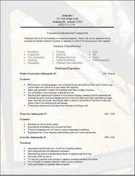 Carpenter Resume Carpenter Job Description For Resume Construction Resum