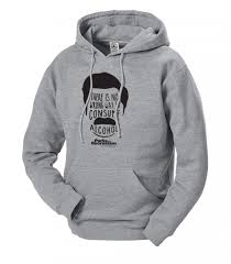 Sweatshirts With Quotes Awesome Parks And Recreation Ron Swanson Hooded Sweatshirt