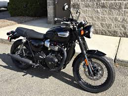 new 2017 triumph bonneville t100 black motorcycles in enfield ct