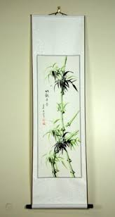 When you first begin to explore pieces of wall art for your feng shui décor you'll probably turn to websites that carry the most common selections of feng. Bamboo Scroll Wall Art Feng Shui Chinese Painting Decor 371998101