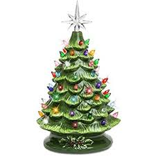 369 Best Merry U0026 BRIGHT Images On Pinterest  Christmas Time Blue Ceramic Tabletop Christmas Tree With Lights