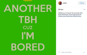 instagram rates and tbh. Exellent Rates A TBH Post On Instagram In Instagram Rates And Tbh