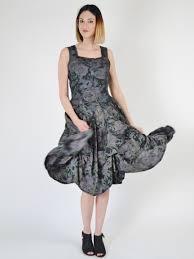 Floral Overdye Dress