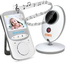 Wireless Video Baby Monitor (Larger 2″ Monitor) Digital Camera Night ...