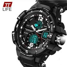 <b>TTLIFE Men</b> Sports Watches Military 30M Dive Waterproof ...