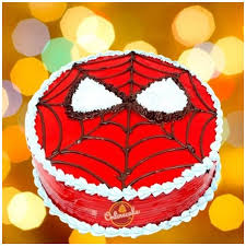 Online Spiderman Theme Cake Delivery In Delhi And Ncr