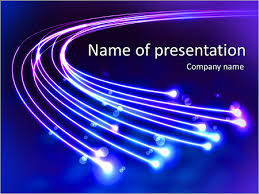 Abstract Shiny Lines Powerpoint Template Infographics Slides