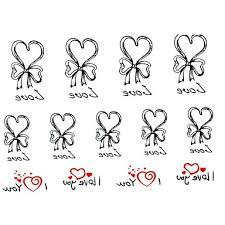 Tetování Vzory Srdce
