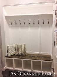 Built In Mudroom Nissa Lynn Interiors How To Build A Mudroom Bench By Amanda
