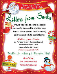Letters from Santa 2016 Poster