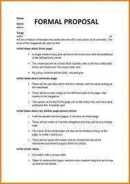 Sponsorship Proposal Template Formal Proposals Proposal