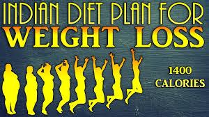 Calorie Diet Chart Indian 1400 Calories Indian Diet Plan For Weight Loss Dietburrp