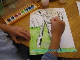 Easy Things To Paint Birch Trees Paint Tutorial 004 Copy Grandparentspluscom