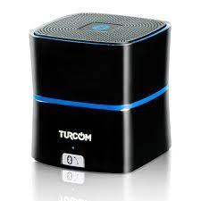 Buy Turcom 5 Watt Power Enhanced Bass Portable Wireless Bluetooth Speaker  Rechargeable Lithium-Ion Battery Titanium Gray Online in Lebanon. 156079824