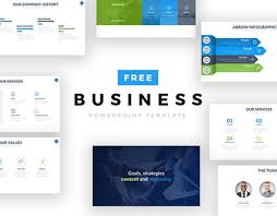 Ppt Business Template 50 Best Free Powerpoint Templates On Behance